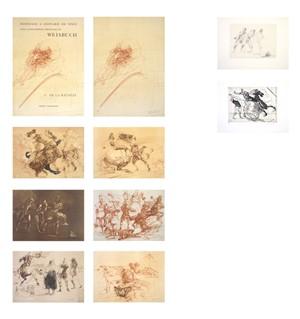 Homage A Leonard de Vinci (Complete Portfolio Set of 10 / De La Bataille Vol.1) (l/L), 1978