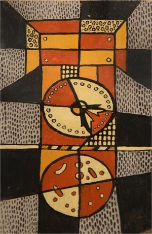 Clock #3, c. 1950