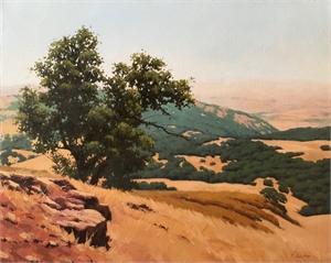 Mt. Diablo View by Cristen Miller