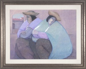 Two Women Resting, 1984