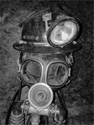 Miner's Death Mask