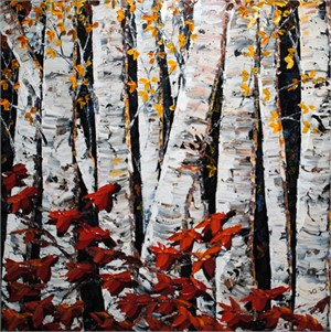 Night Birch 172075