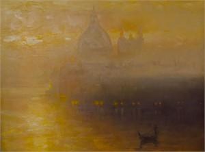Fog over Santa Maria Della Salute, 2018