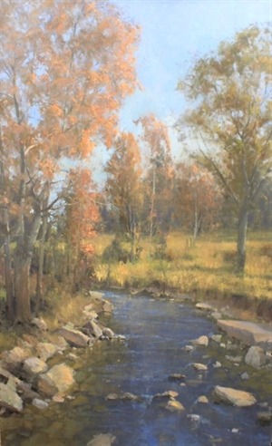 Autumn Brook by Roger Dale Brown