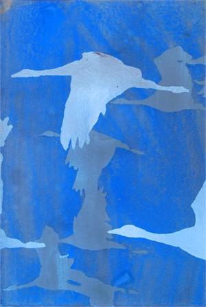 Blue Together B - SOLD, 2016