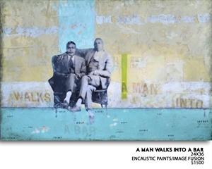 A Man Walks into a Bar by Ruth Crowe
