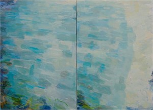 Sandy Bottom (Diptych), 2016