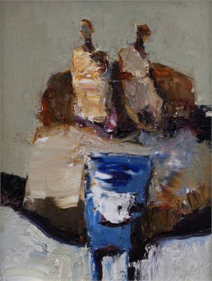 Blue Table, 2018