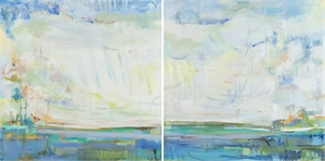 Light by the Water - Charleston, SC Diptych, 2020