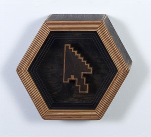Hex Framed Temple Symbol 5