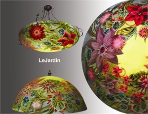 "Display Lamp-Le Jardin 18""-#11 base - S"
