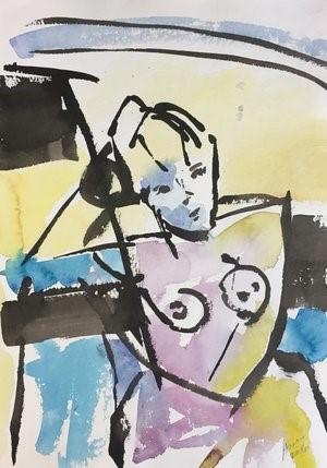 Figure Drawing #10, 2018