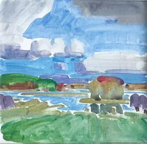Marsh Study #5, 2018