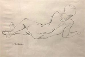 Nude Sketch 4