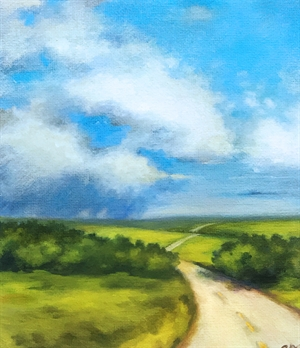 Prairie Light by Gweneth McClain