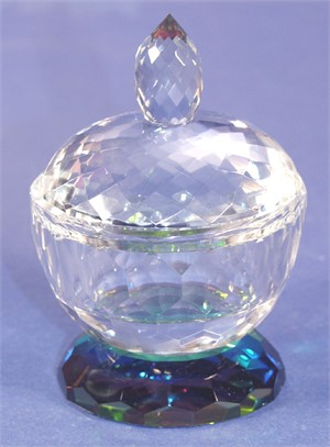 Crystal Candy Dish Small 4 x 4-S