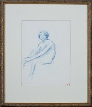 Jeune Femme Assise, c1900