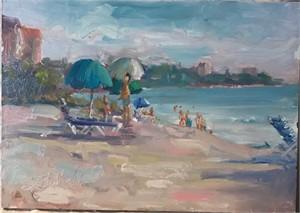 Beach Activity by Linda Richichi