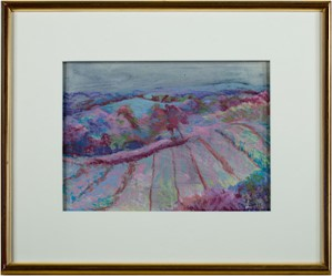 Orchard View- Small Version (Dr. Johnson's Rims Edge Orchard), 1997