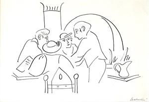 Café Scene #1, 1929