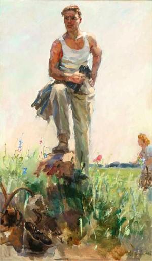Vladimir Ivanovich Ievlev, A New Life, 1955