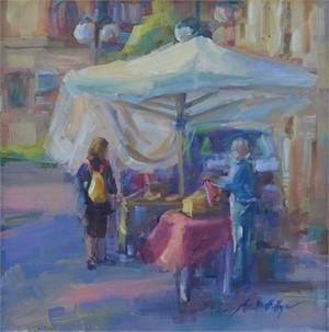 Shopping At the Market, Italy