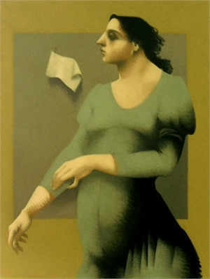 Woman with a Letter (Sold)