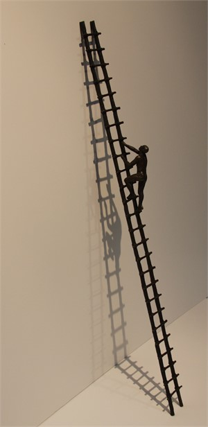 Solitary Climber by Bill Starke