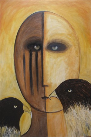 SOLD 'Kiss of the Falcon'