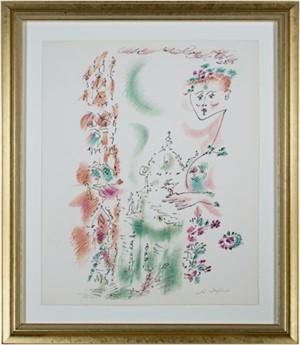 Venise En Fleurs from Je Reve (I Dream) Portfolio (H.C. XXV/XXV), 1975