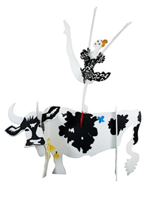 Cow And Ballerina, 1990