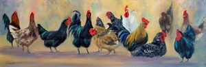 Poultry Party by Cathie Thompson