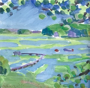 Marsh Study #10, 2018