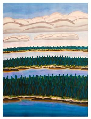Three Islands, Three Clouds #2, 2016