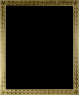 22K GOLD LEAF HANDMADE PHOTO FRAME 8X10 (Vertical -or- Horizontal), 2011