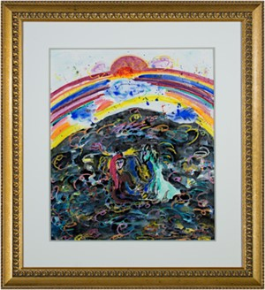 Famous Artist Series:  Homage to Chagall - Sunrise Sunset, 2008