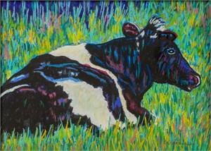 Maisie Colorful Cow