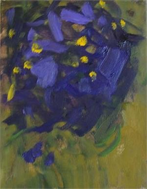 Flower Study in Purple