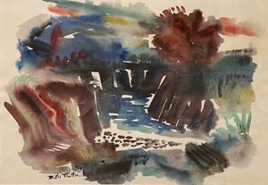 Abstract Landscape, 1952