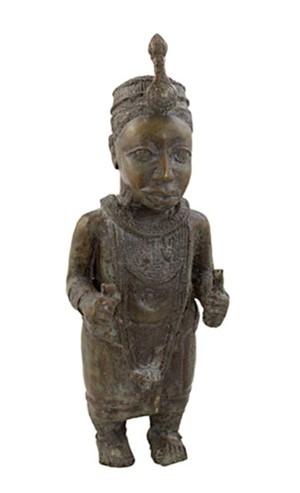 Bronze Statue - Ife, Nigeria, c.1920