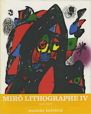 Lithography, Volume 4 1969-1972 contains 6 original lithos, Ed. of 5M copies, 1981
