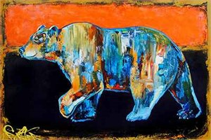 Rothko's Bear - DS 182754