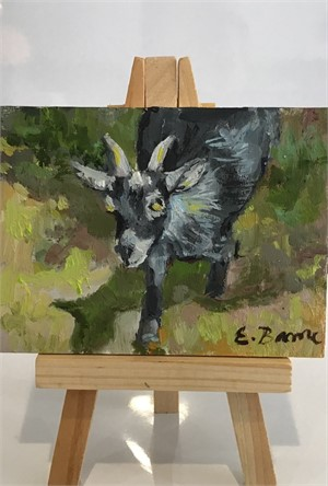 Goat with Yellow Eyes, 2019