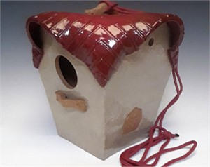 Finch Birdhouse, Frankly  Scarlet, 2019