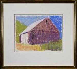 Dark Barn with White Doors, 2004