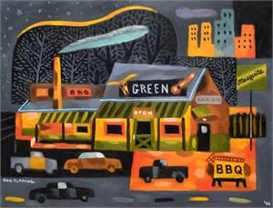 Green Mesquite BBQ, Austin, 2016