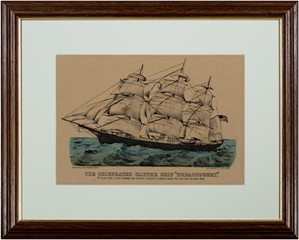 The Celebrated Clipper Ship Dreadnought, c.1877