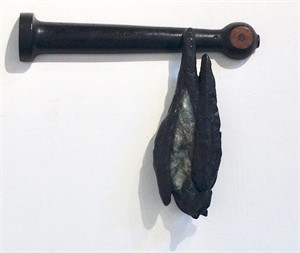 Bat on a Machine Mold, 2018
