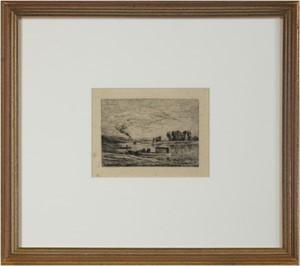 Le Bateau a Conflans/Le Paysagiste au Bateau, c. 1870