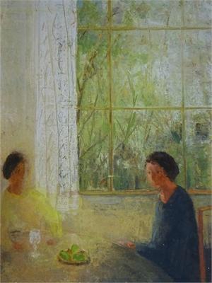 Tall Window by David Brayne R.W.S.